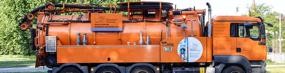 Kanalspülwagen