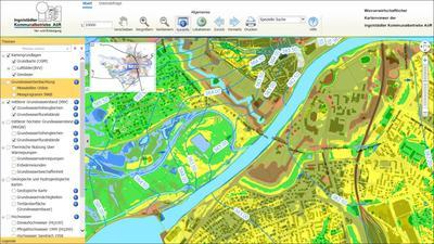 Externer Link: Wasserwirtschaftlicher Kartenviewer